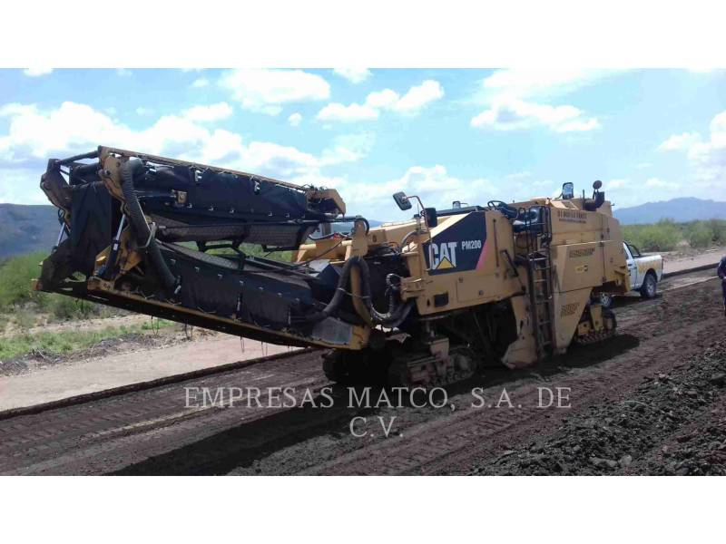 CATERPILLAR COLD PLANERS PM-200 equipment  photo 1