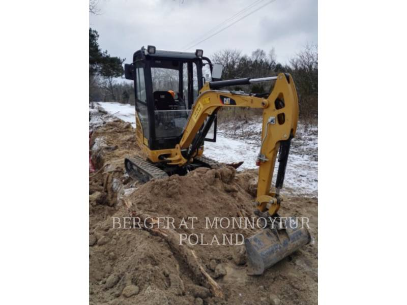 CATERPILLAR PELLES SUR CHAINES 301.7 D equipment  photo 6