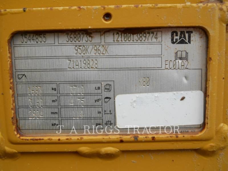 CATERPILLAR WHEEL LOADERS/INTEGRATED TOOLCARRIERS 950M 2 equipment  photo 12