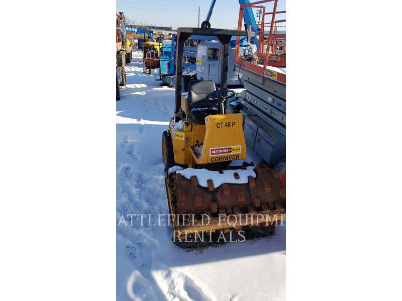 CORNIVER VIBRATORY SINGLE DRUM PAD CT48P equipment  photo 5