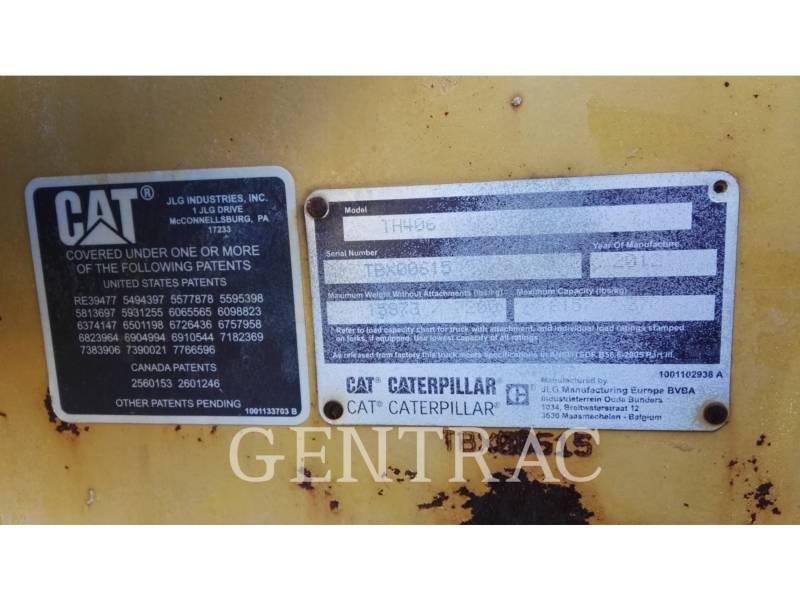 CATERPILLAR TELESKOPSTAPLER TH406 equipment  photo 9