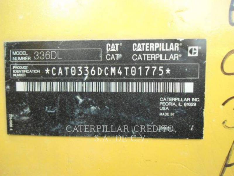CATERPILLAR KOPARKI GĄSIENICOWE 336DL equipment  photo 5