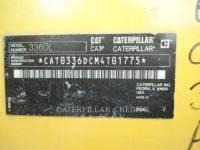 CATERPILLAR ESCAVATORI CINGOLATI 336DL equipment  photo 5