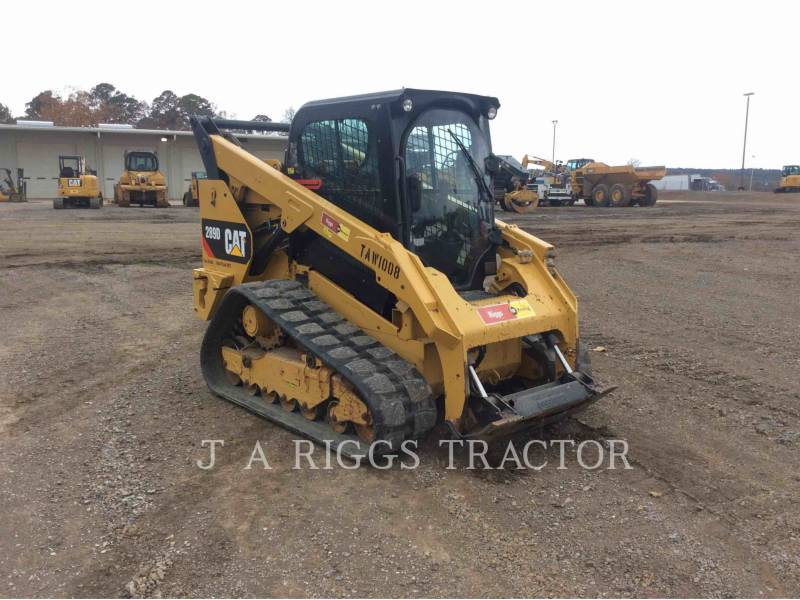 CATERPILLAR SKID STEER LOADERS 289D AH equipment  photo 8