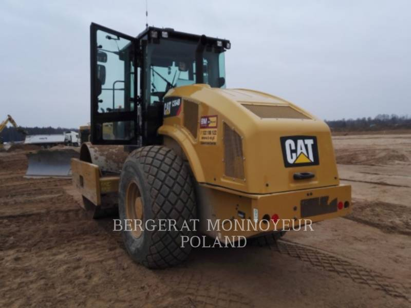 CATERPILLAR EINZELVIBRATIONSWALZE, GLATTBANDAGE CS64B equipment  photo 4