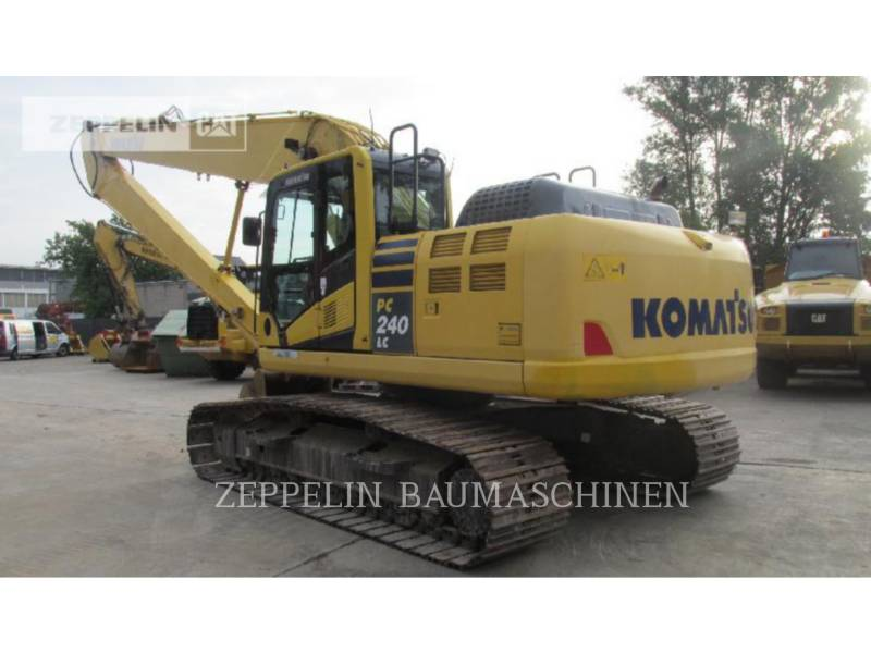KOMATSU LTD. KOPARKI GĄSIENICOWE PC240NLC-1 equipment  photo 3
