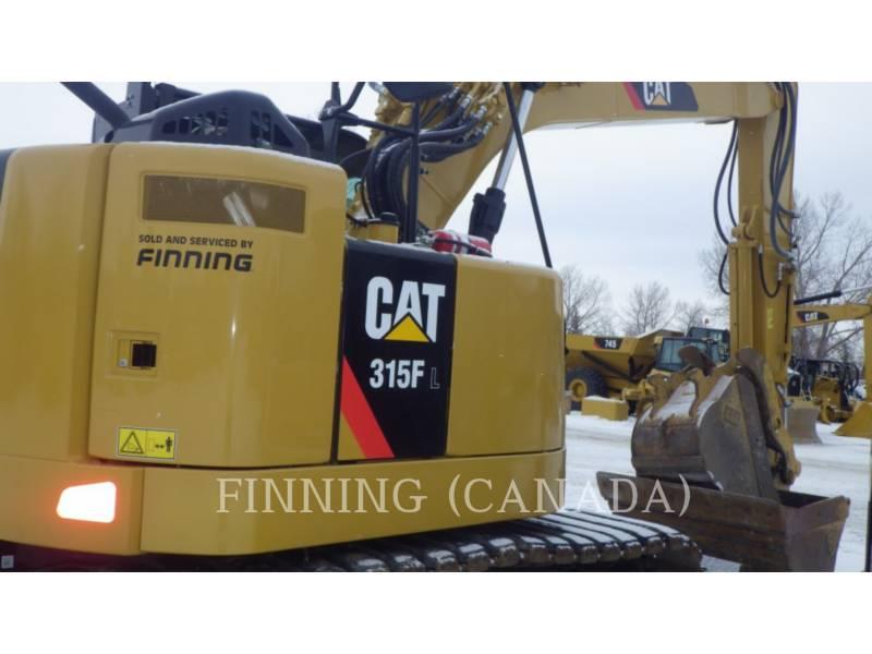 CATERPILLAR トラック油圧ショベル 315F equipment  photo 5