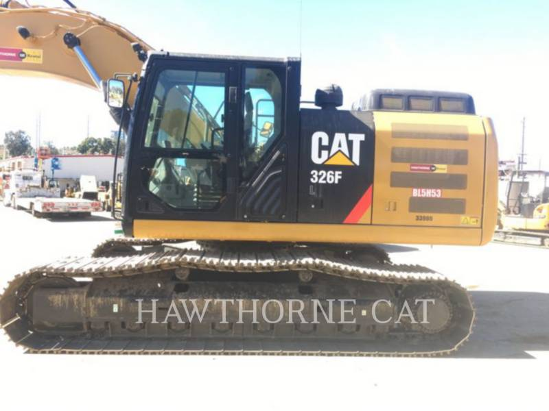 CATERPILLAR TRACK EXCAVATORS 326F equipment  photo 3
