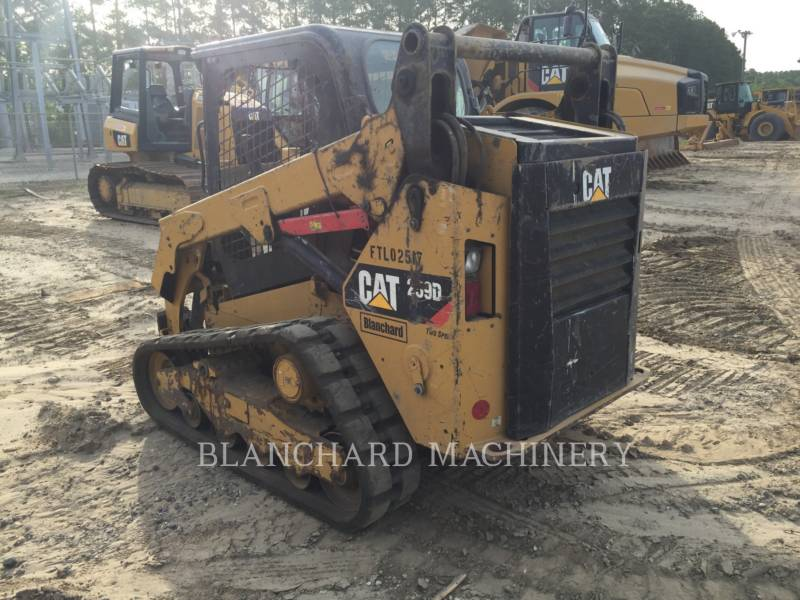 CATERPILLAR MULTITERREINLADERS 259D equipment  photo 6