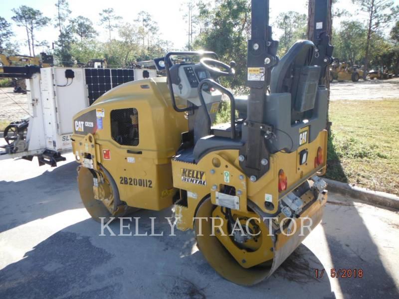 CATERPILLAR TAMBOR DOBLE VIBRATORIO ASFALTO CB22B equipment  photo 2