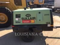 SULLAIR LUCHTCOMPRESSOR 185COMPWHL equipment  photo 1