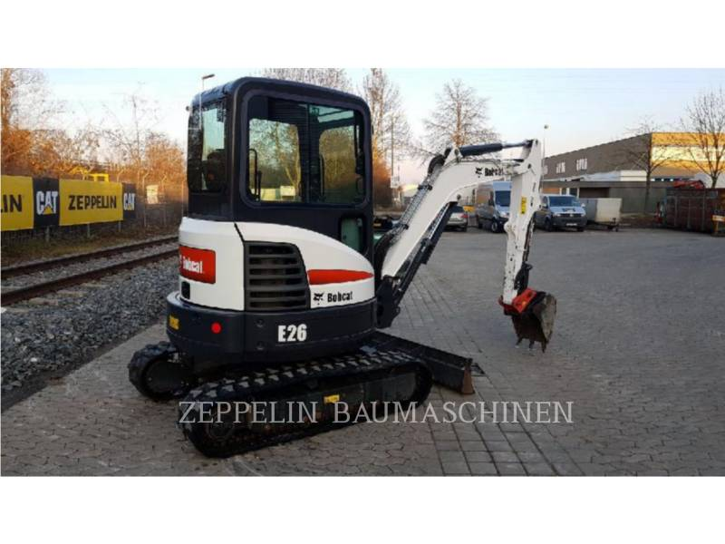 BOBCAT KOPARKI GĄSIENICOWE E26 equipment  photo 4