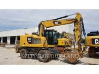 Equipment photo Caterpillar M314F EXCAVATOARE PE ROŢI 1