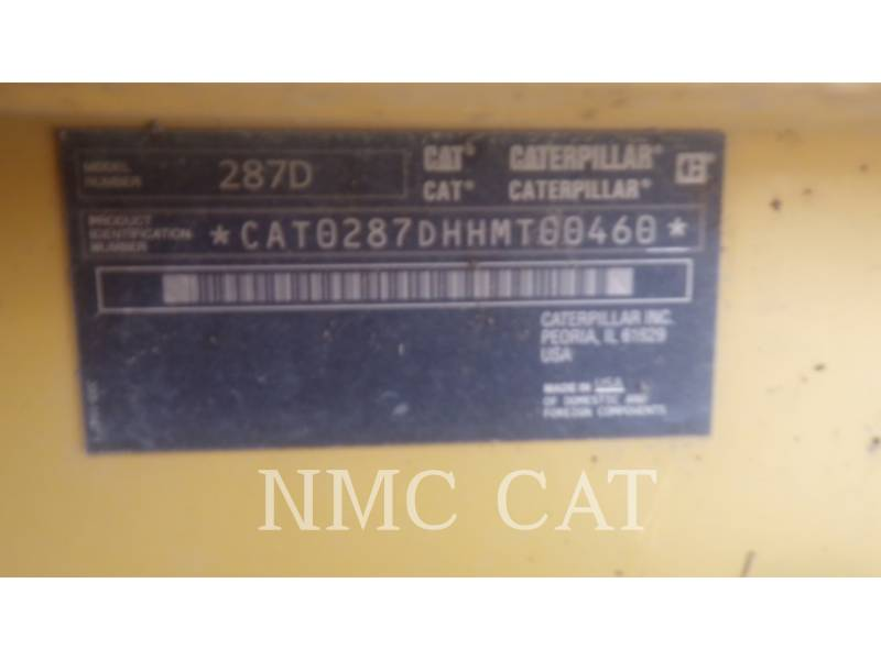 Caterpillar ÎNCĂRCĂTOARE PENTRU TEREN ACCIDENTAT 287D equipment  photo 6
