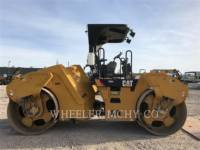 CATERPILLAR TAMBOR DOBLE VIBRATORIO ASFALTO CB64 R9 equipment  photo 4