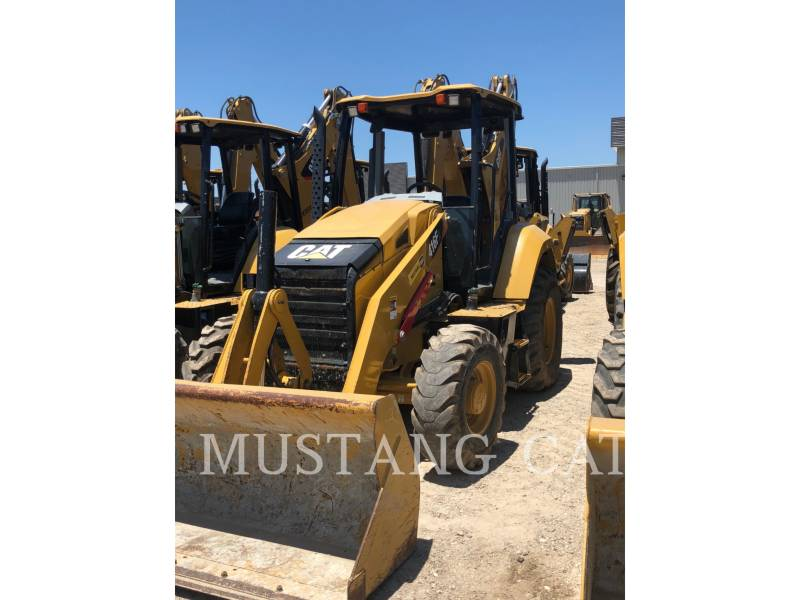 CATERPILLAR BAGGERLADER 416F2 4SOR equipment  photo 1