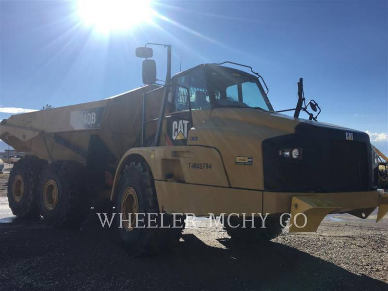 Caterpillar CAMIOANE ARTICULATE 740B TG equipment  photo 3