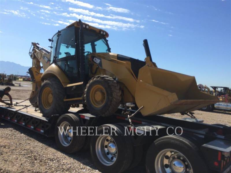CATERPILLAR BACKHOE LOADERS 420F E equipment  photo 2