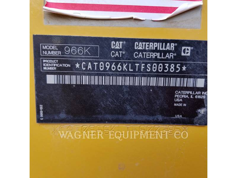CATERPILLAR WHEEL LOADERS/INTEGRATED TOOLCARRIERS 966K equipment  photo 5