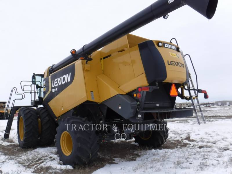 LEXION COMBINE コンバイン LX580R equipment  photo 4