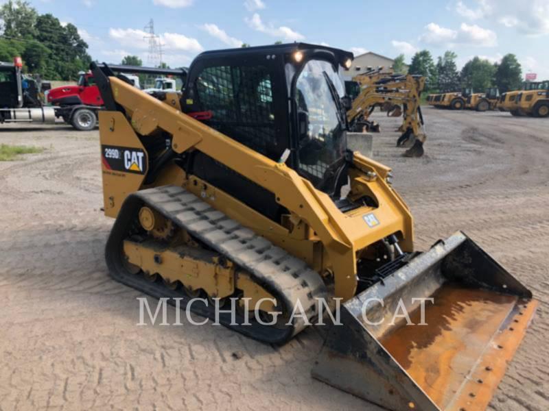 CATERPILLAR CARREGADEIRAS TODO TERRENO 299 D equipment  photo 2