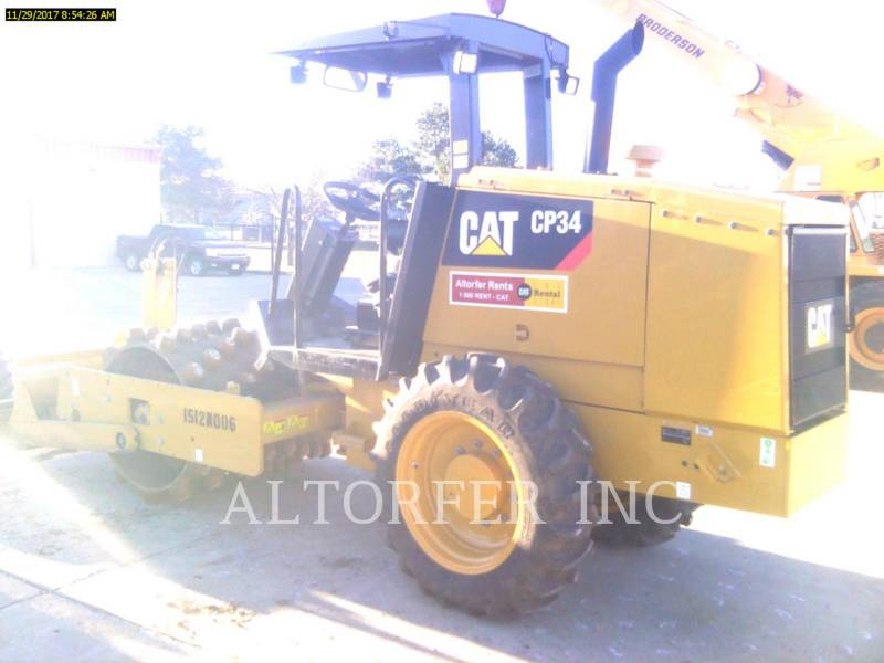 CATERPILLAR COMPACTADORES DE SUELOS CP34 equipment  photo 2