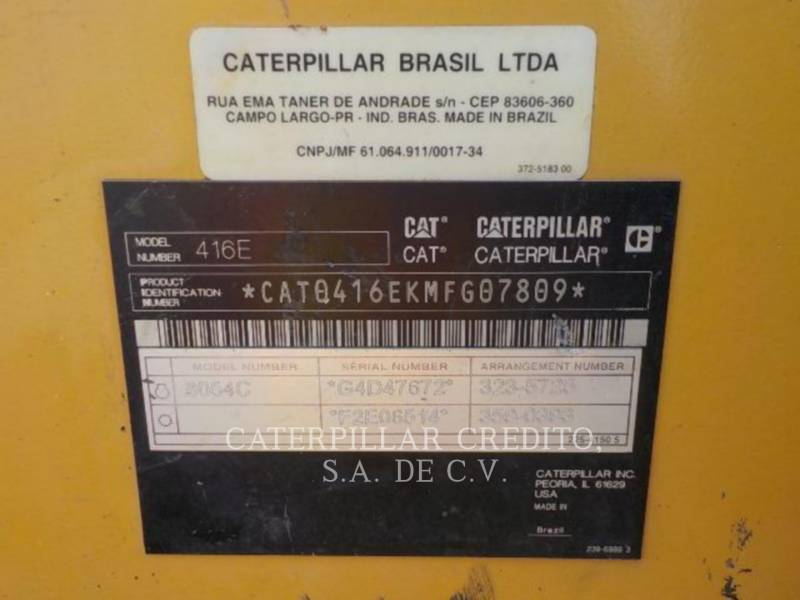 CATERPILLAR BACKHOE LOADERS 416EST equipment  photo 24