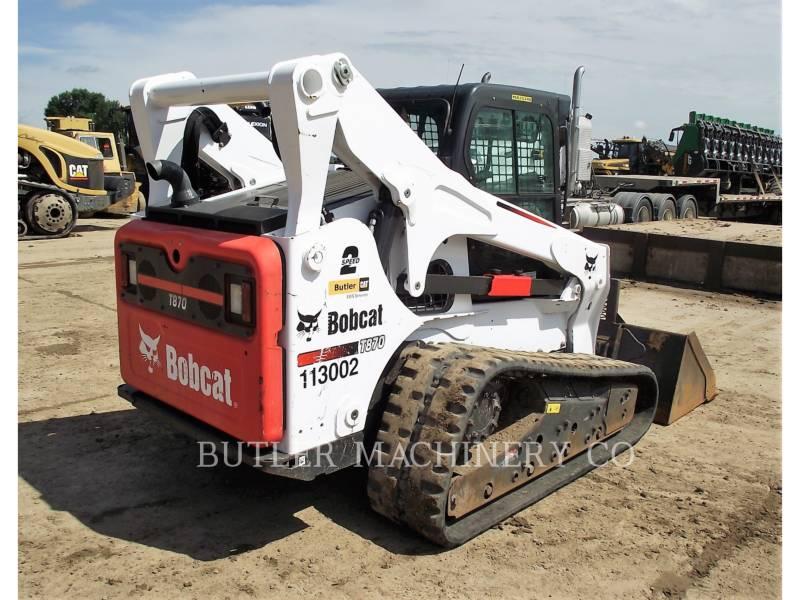 BOBCAT SKID STEER LOADERS T870 equipment  photo 4