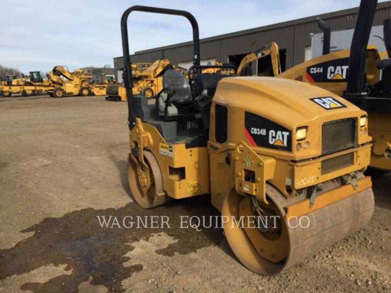 CATERPILLAR COMPACTEURS CB34B equipment  photo 1