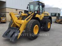 Equipment photo KOMATSU WA270 WHEEL LOADERS/INTEGRATED TOOLCARRIERS 1