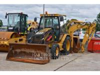 Equipment photo CATERPILLAR 428D CHARGEUSES-PELLETEUSES 1