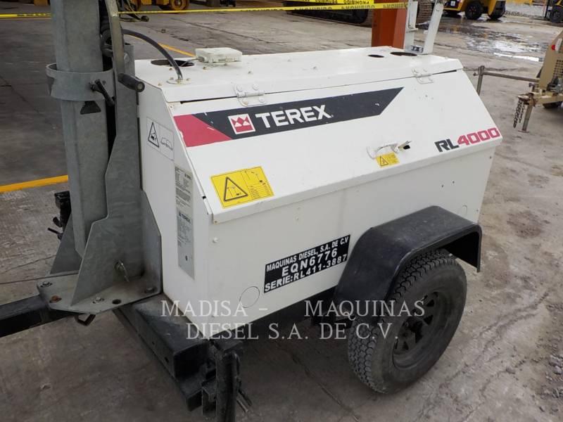 TEREX CORPORATION LIGHT TOWER RL4000 equipment  photo 2