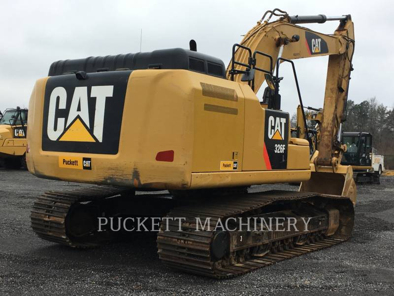 CATERPILLAR TRACK EXCAVATORS 326F equipment  photo 4