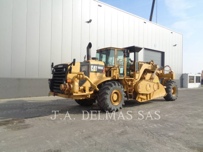 CATERPILLAR STABILIZERS / RECLAIMERS RM-500 equipment  photo 1