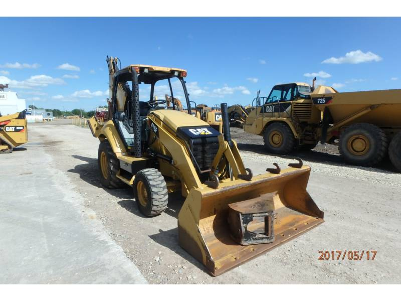 CATERPILLAR BAGGERLADER 416FST equipment  photo 2