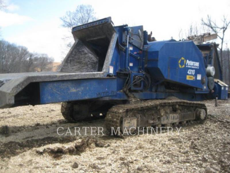 PETERSON CHIPPER, HORIZONTAL PET 4310 equipment  photo 1