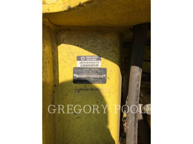 DEERE & CO. EXPLOITATION FORESTIÈRE - ABATTEUSES-GROUPEUSES - SUR PNEUS 843L equipment  photo 21
