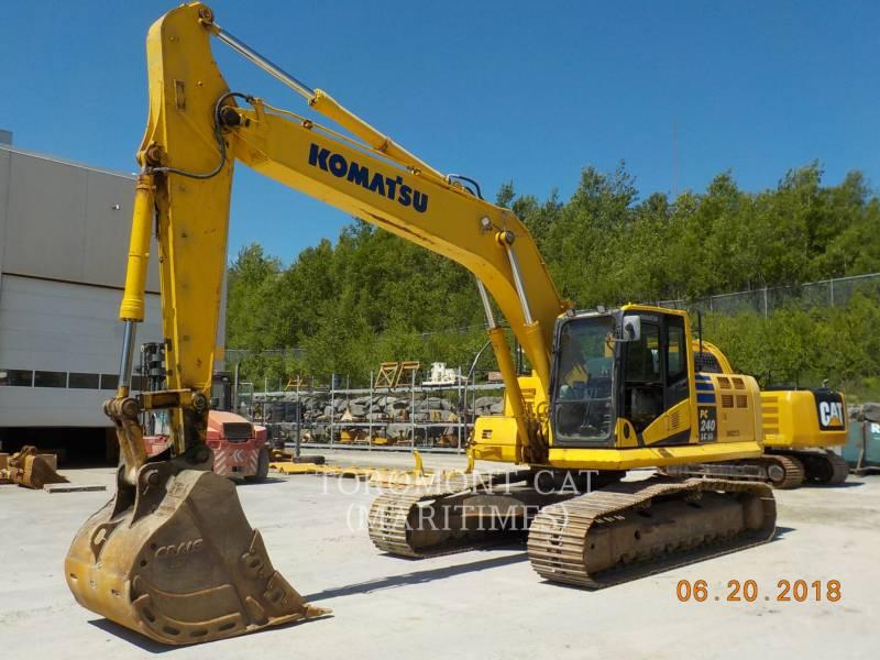 KOMATSU MINING SHOVEL / EXCAVATOR PC240 equipment  photo 1