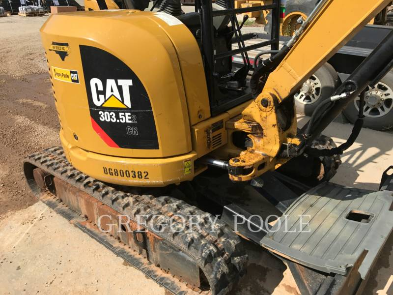 CATERPILLAR トラック油圧ショベル 303.5E2 CR equipment  photo 3