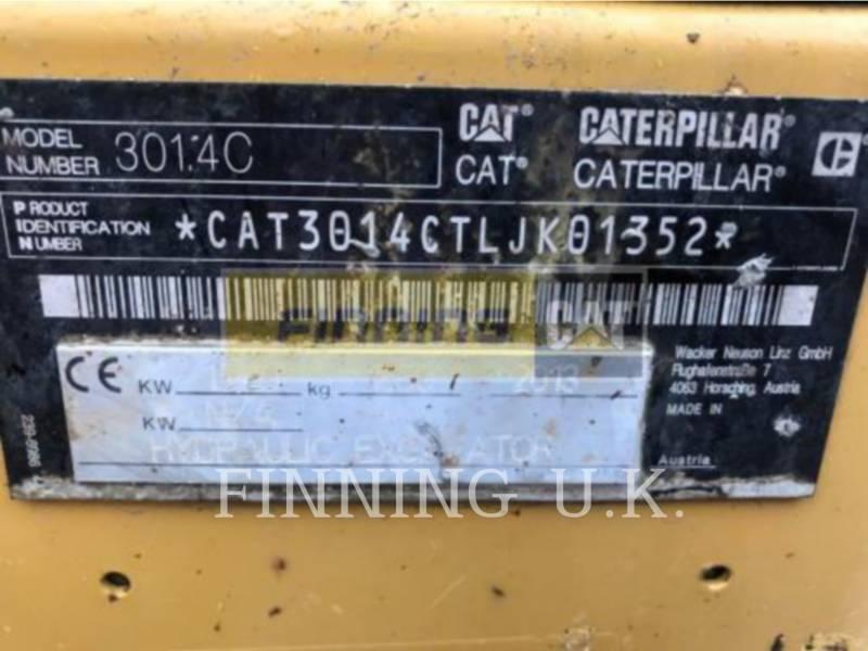 CATERPILLAR EXCAVADORAS DE CADENAS 301.4CEXCB equipment  photo 2
