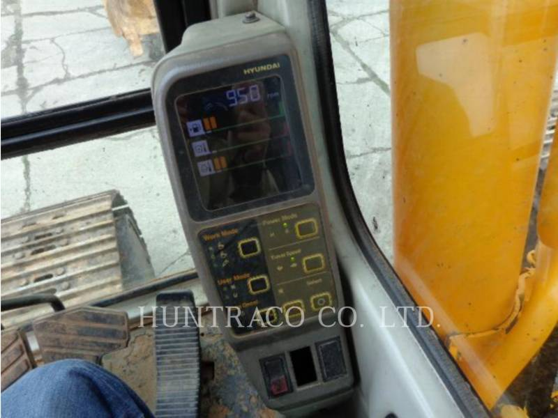 HYUNDAI PELLES SUR CHAINES R 290 LC-7 equipment  photo 7