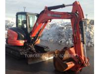 KUBOTA CORPORATION PELLES SUR CHAINES U55 equipment  photo 3