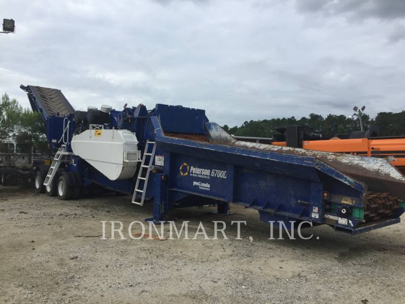 PETERSON CHIPPER, HORIZONTAL 6700D equipment  photo 1