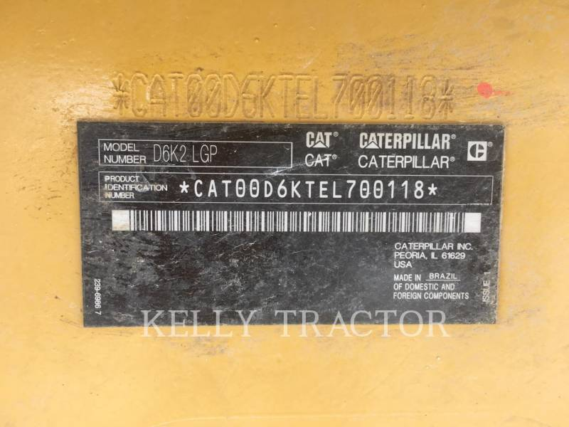 CATERPILLAR TRATTORI CINGOLATI D6K2LGP equipment  photo 19