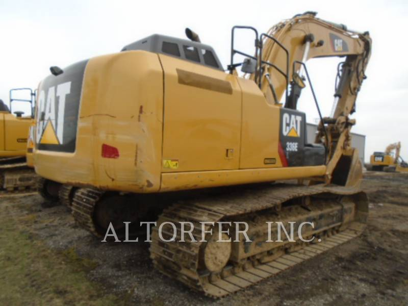 CATERPILLAR TRACK EXCAVATORS 336EL TH equipment  photo 3