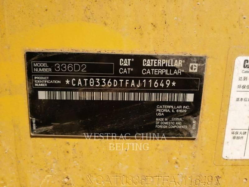 CATERPILLAR KETTEN-HYDRAULIKBAGGER 336D2 equipment  photo 2