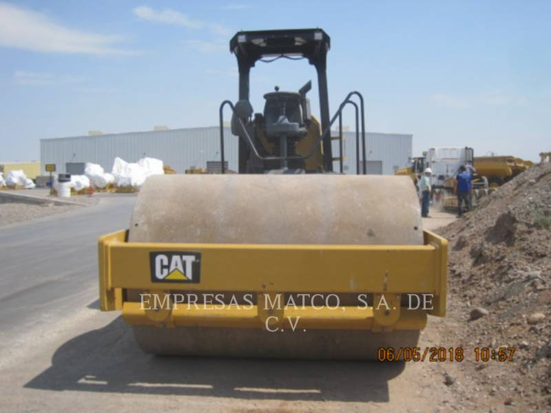 CATERPILLAR COMPATTATORE A SINGOLO TAMBURO VIBRANTE LISCIO CS54BLRC equipment  photo 2