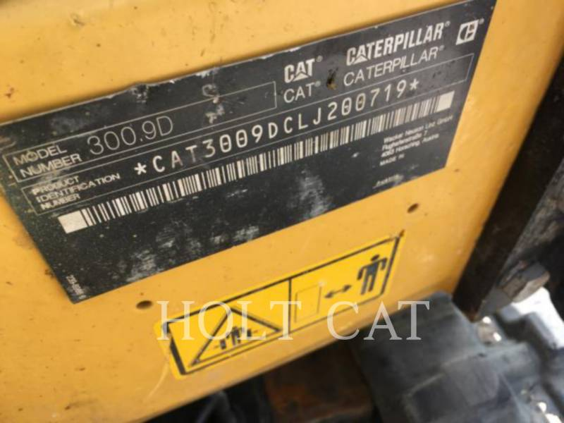 CATERPILLAR KETTEN-HYDRAULIKBAGGER 300.9D equipment  photo 5