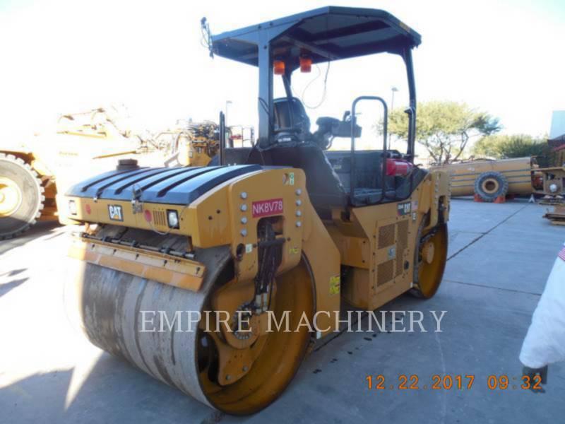 CATERPILLAR TAMBOR DOBLE VIBRATORIO ASFALTO CB54B equipment  photo 2