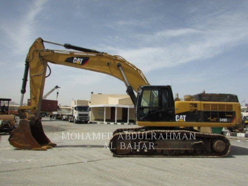 CATERPILLAR KETTEN-HYDRAULIKBAGGER 349 D L equipment  photo 2